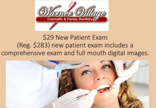 $ 29 New Patient Exam
